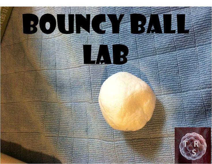 Bouncy Ball Scientific Method Lab