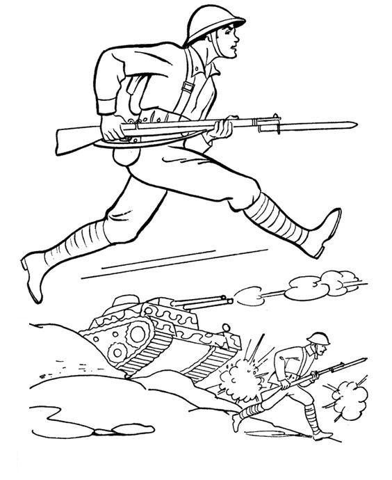 Okul öncesi 18 Mart çanakkale Zaferi Boyama Sayfaları Belirli Gun