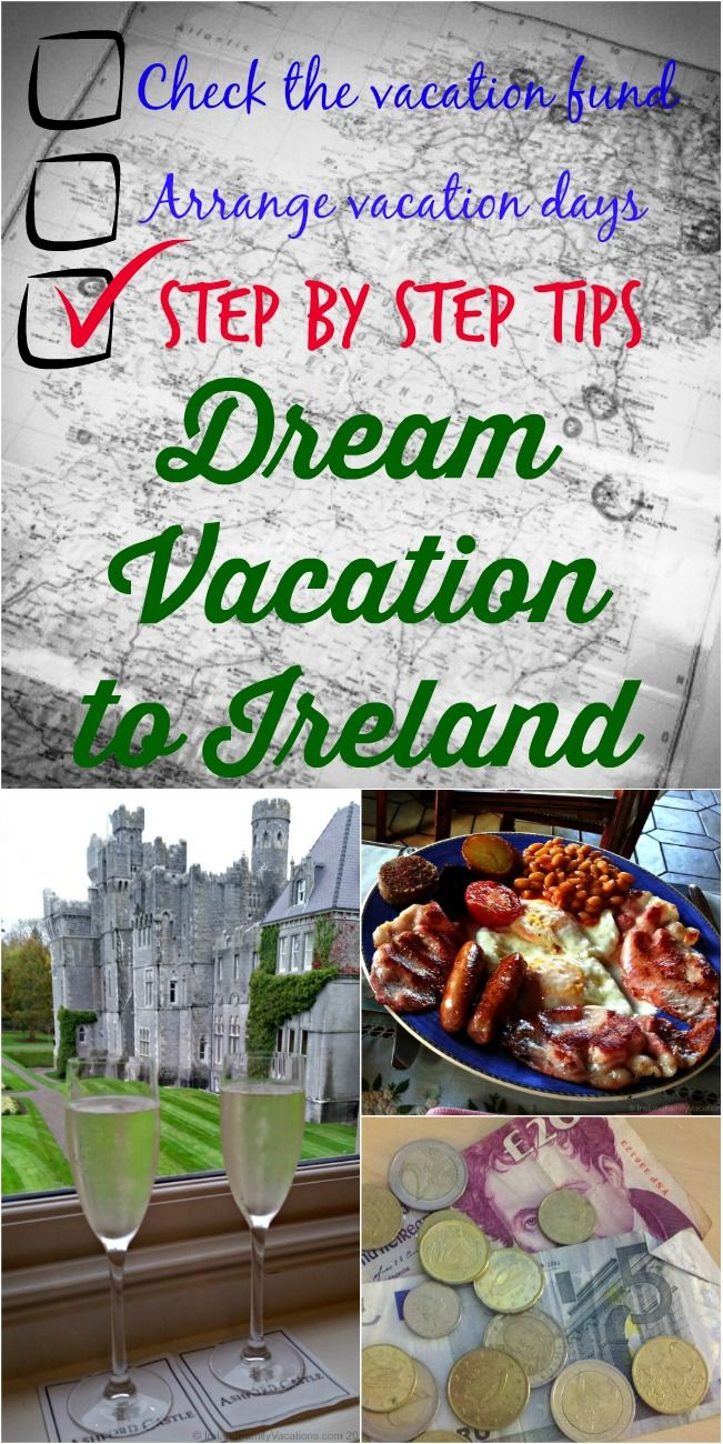 Tips for planning the most magical Ireland family vacation. Step-by-step Ireland vacation planning tips: flights, transportation, lodging, money saving tips