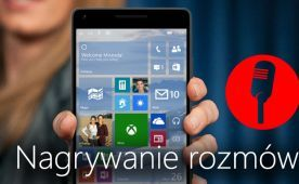 Nagrywanie rozmów Windows Phone