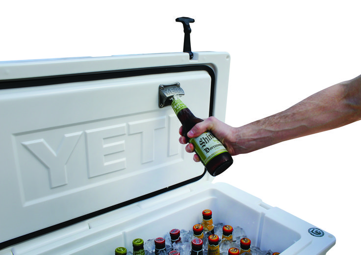 YETI Mounted Bottle Opener $19.99 Now this is cool - gotta get on!