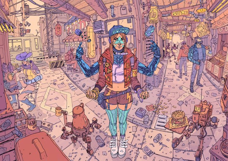 Josan Gonzalez has the second volume of his awesome sci-fi comic/art book The Future is Now up on Kickstarter.