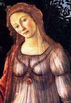 Botticelli: La Primavera detail