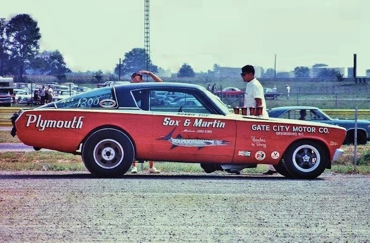 Sox & Martin Plymouth Barracuda funny car.