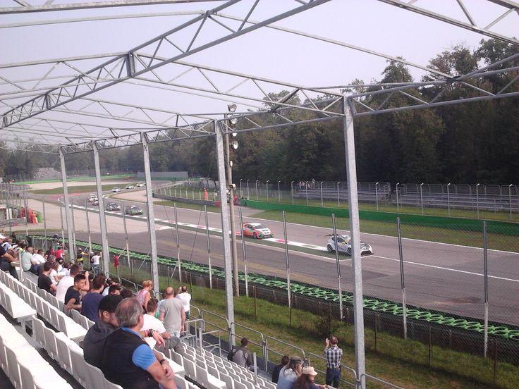 Tribuna - Gallinero Monza Speedway 2014 - (Monza, Italia) 28/09/2014