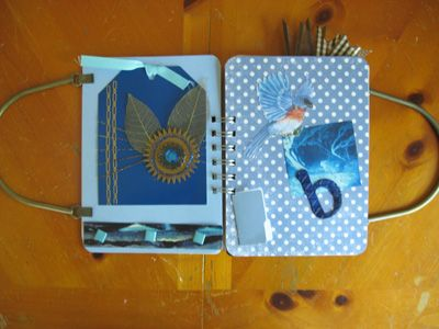 Gypsies Book with Handles: Books Handles, Scrap Books, Gypsy Books