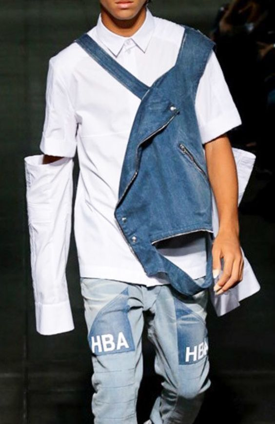 Hood by Air SS 2016 #denimstyle