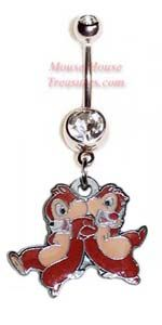 Disney Mics Characters Belly Rings