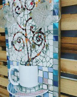 Telas Abstratas para decorações de ambientes. Decore com arte! Temos Aulas de pintura também. : Mosaicando Peças novinhas em filha!!!!!