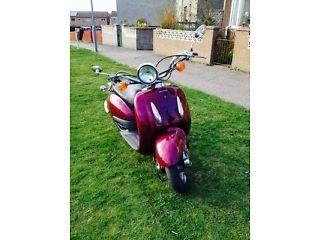 SRX50 Honda Shadow 50cc Moped - http://motorcyclesforsalex.com/srx50-honda-shadow-50cc-moped/