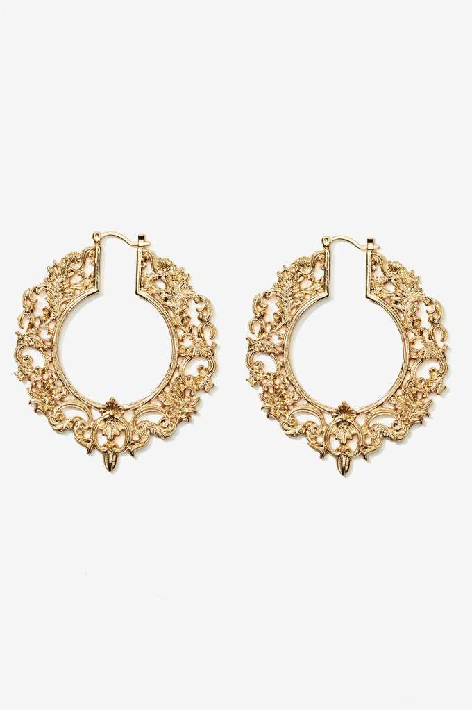 High Society Filagree Earrings | Shop What's New at Nasty Gal