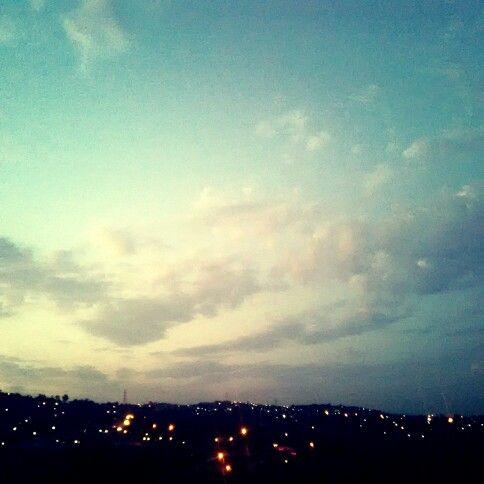 Light takes me to the sky