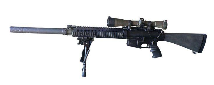 SR25 sniper platform