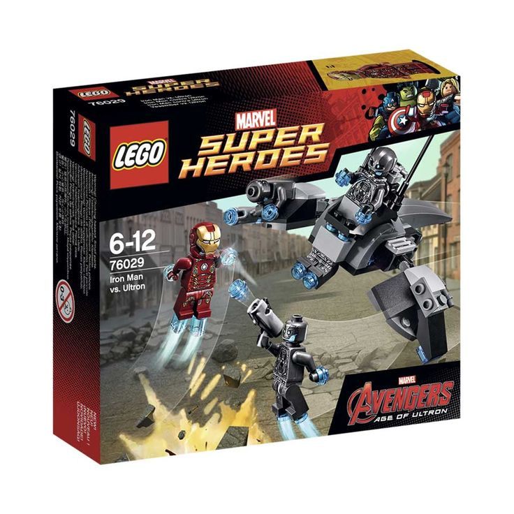 LEGO Super Heroes Iron Man: Iron Man vs. Ultron 76029 | Bart Smit