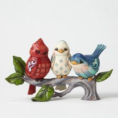 Red White Blue Birds on Branch - 4051412 $44.00