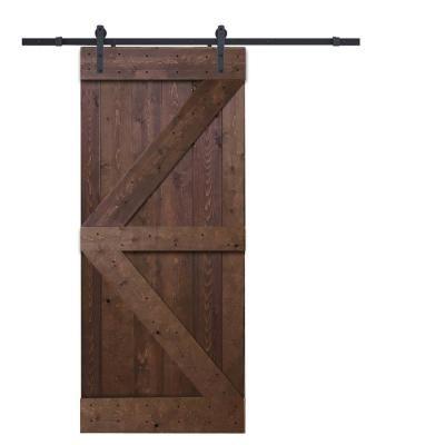 36 In X 84 In K Style Knotty Pine Wood Barn Door Wood Barn Door Wood Room Divider Wood Doors Interior