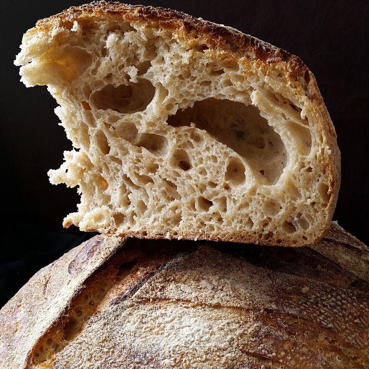 Pınar's Desserts: Tartine Country Bread - Tartine Ekşi Mayalı Ekmek