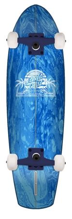 Check out the deal on 8.8in x 30.97in A Frame Street Shark Santa Cruz Cruiser Skateboard at NHS Fun Factory