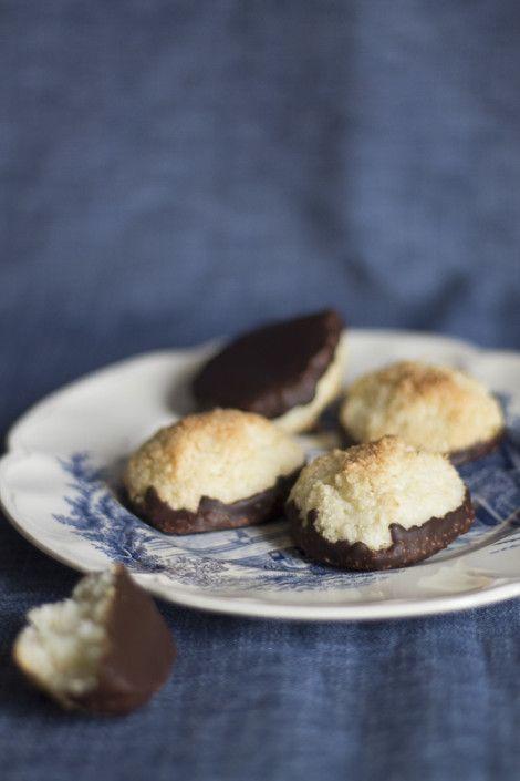 Dolcetti al cocco e fondente - Coconut tops or kokostoppe
