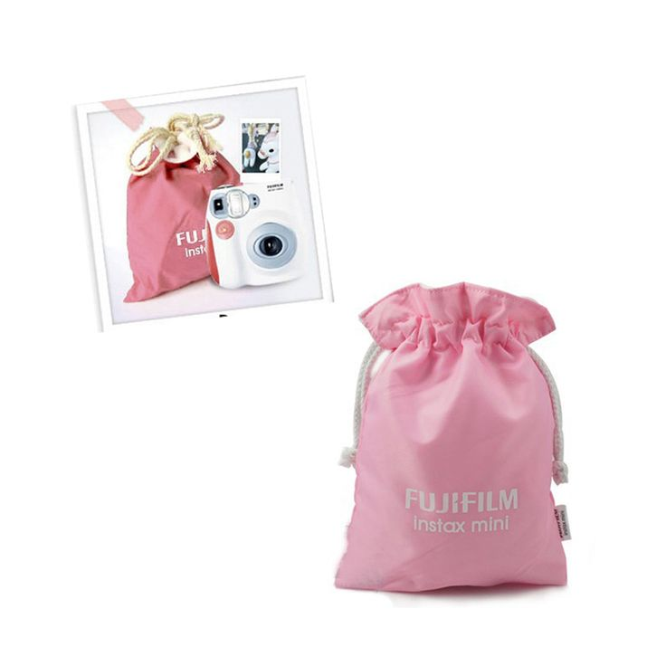 >> Click to Buy << High Quality Pink Film Instant Camera Bag Portable Cute Storage Bag For Fuji Fujifilm Instax Mini 7 7s 8 25 50s 90 #OR57 #Affiliate