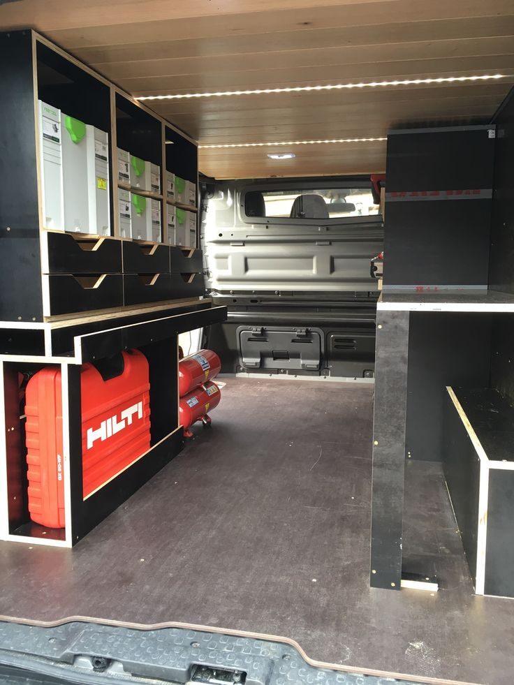 Ad Bdb E E E Fea Van Shelving Renault Trafic on sprinter van camper conversion