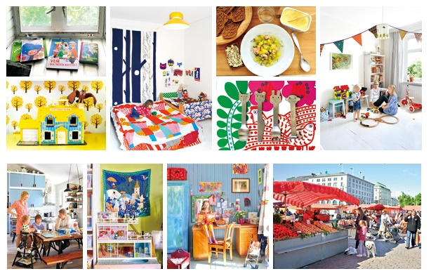 """Highly addictive ;) You have been warned...This is a taste of a lovely Japanese book """"Finland Family Style"""". A sneak peak to a few extremely well photographed and colorful finnish family homes. Very lovely to browse through! This is only one of the few PAUMES books..."""