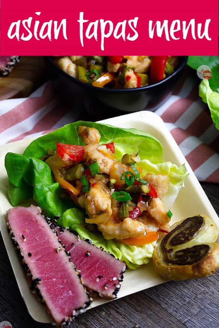 Plan An Asian Tapas Menu For A Busy Night Take Two Tapas Asiantapasmenu Tapasmenu Anolon Ad Kitchencrea Asian Appetizers Tapas Menu Appetizer Recipes