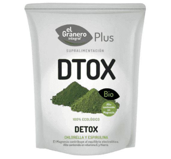 Detox Chlorella Spirulina Bio Superalimento El Granero 200 g