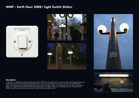 Nice ambient job for WWF Earth Hour via WebUrbanist