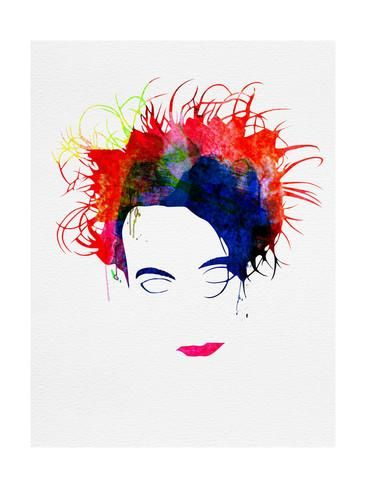 "36 x 48"" Robert Smith Watercolor Poster by Lora Feldman at AllPosters.com ($48.74)"