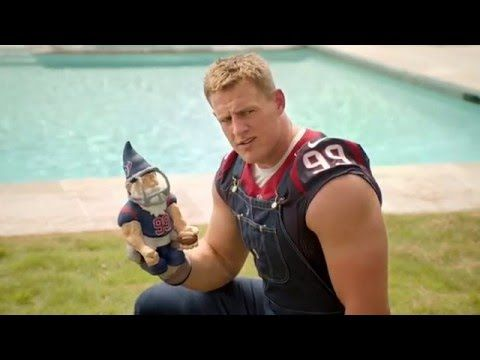 JJ Watt Funniest Commercial Compilation - YouTube