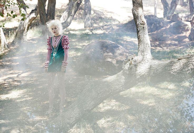 Beatrice by Steven Lippman #beatrice #fashion #magic #photography