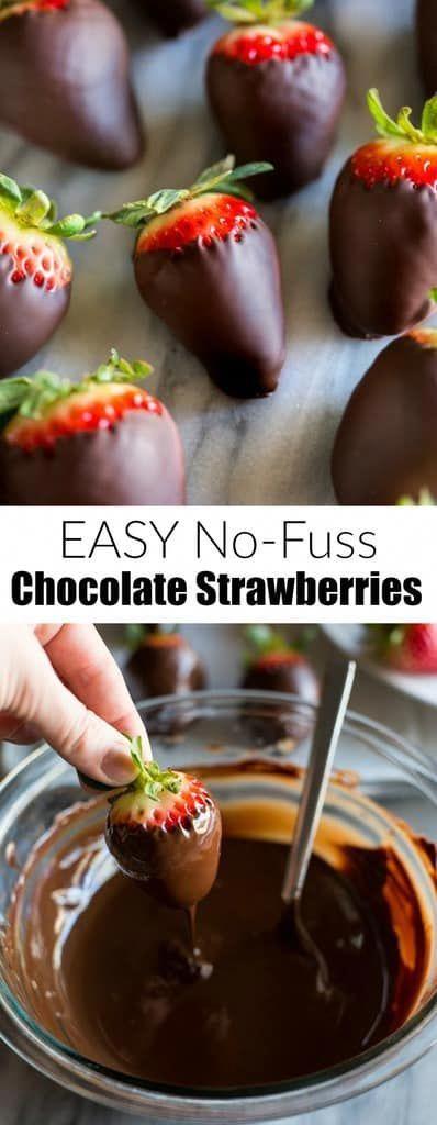 Eine Schritt-für-Schritt-Anleitung zur Herstellung von EASY Chocolate Covered Strawberries, …   – chocolate covered strawberries