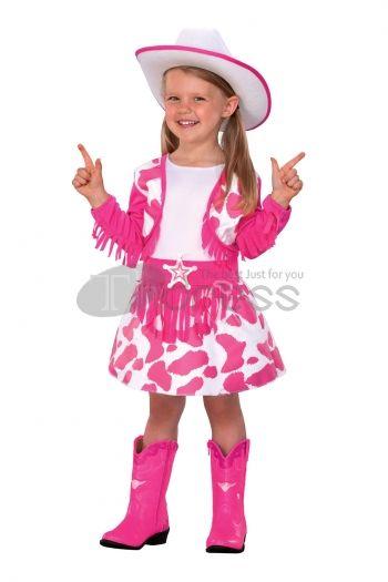 Halloween Costumes pink handsome cowboy Costumes