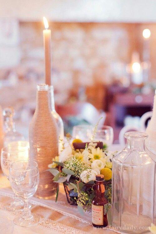 24 best images about id e d cor rustique on pinterest - Decoration mariage nature chic ...