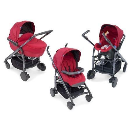 Коляска Chicco Trio Love Red (3 в 1)  — 49800р. ---------------- Chicco Trio Love - это одна модульная система и 4 разных конфигурации: люлька, автомобильное кресло и прогулочный блок с реверсивным сиденьем  В Chicco Trio Love входит все, что нужно для перевозки ребенка с рождения до 3-х лет. Каждый элемент коляски был разработан так, чтобы маленький пассажир чувствовал себя словно в маминых объятиях. Всё - большая люлька с мягким матрасом, регулируемый подголовник, мягкие накладки и широкое…