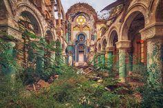 urbex les splendides photos de bâtiments abandonnés de Matthias Haker  2Tout2Rien