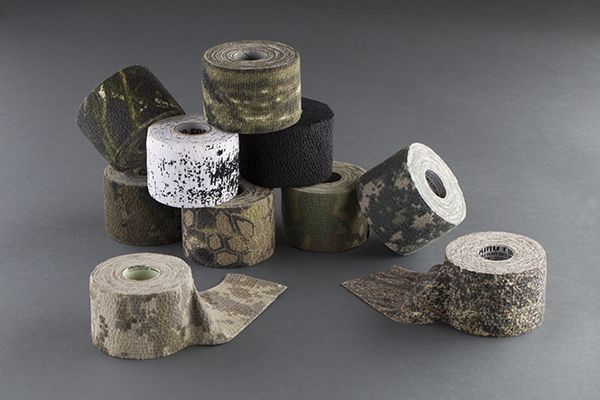 McNett Camo Wrap leave no residue and provide perfect camouflage for your game. They also all grip and protect your gear from scratches!   Find them at http://buff.ly/1RQhJr4