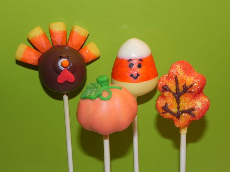 Cake Pop Ideas For Thanksgiving : 1000+ ideas about Fall Cake Pops on Pinterest Fall Cakes ...
