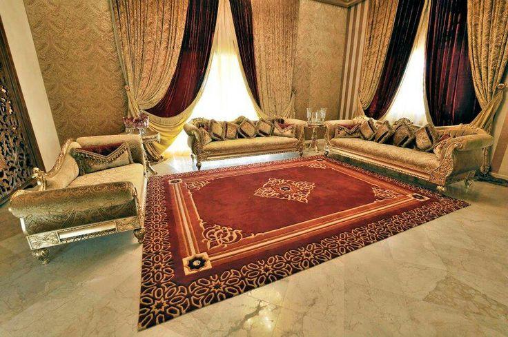 Salon marocain moderne Sedari Pinterest Salon Marocain and ...