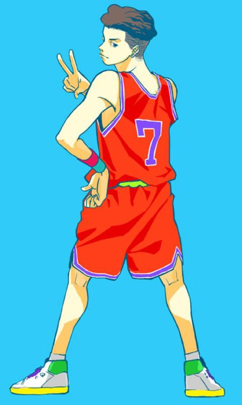 Riyota Miyagi #7 #anime #slamdunk