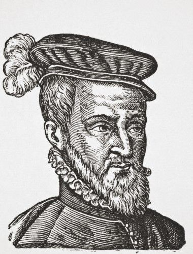 Joachim Du Bellay C. 1525 _ 1560. French Poet, Critic, And A Member Of The Pl_iade. From Science And Literature In The Middle Ages By Paul Lacroix Published London 1878 Poster Print (24 x 32)