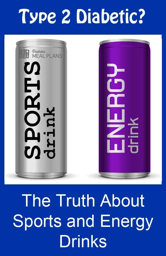 Sports and Energy Drinks and Type 2 Diabetes - all the facts revealed!
