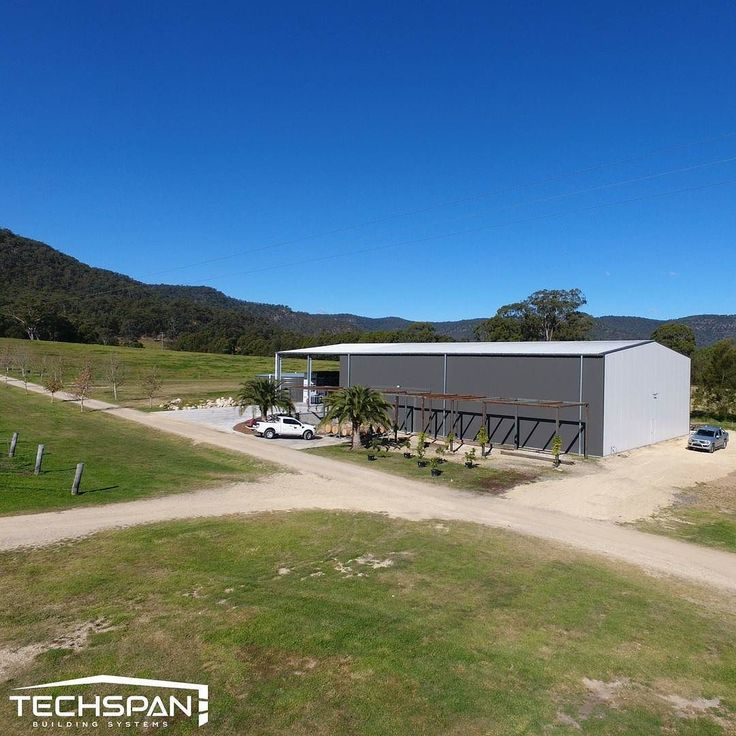 A packing shed we built for a local vineyard. #armidale #armidalensw #nsw #industrialshed #vineyard #farmshed #farmlife #farms #farming #farmers #rural #techspanbuildings #agriculture #farmer #winery