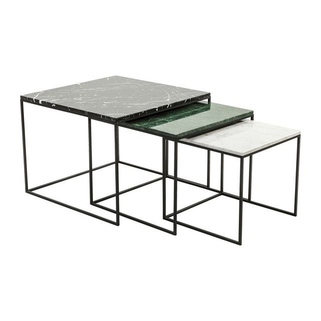Tables d appoint East Coast Square 3/set Kare Design