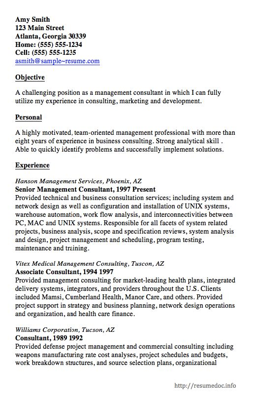 Here is the Free Sample of Management Consultant Resume, You can - consultant resume