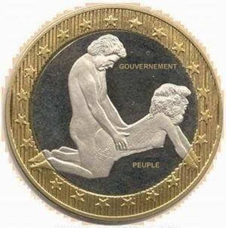 Argent dévalué ou la baise du peuple Nouvelle pièce de 3 Euros... Suite à la…
