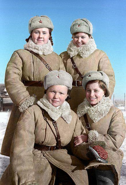 Солдаты РККА