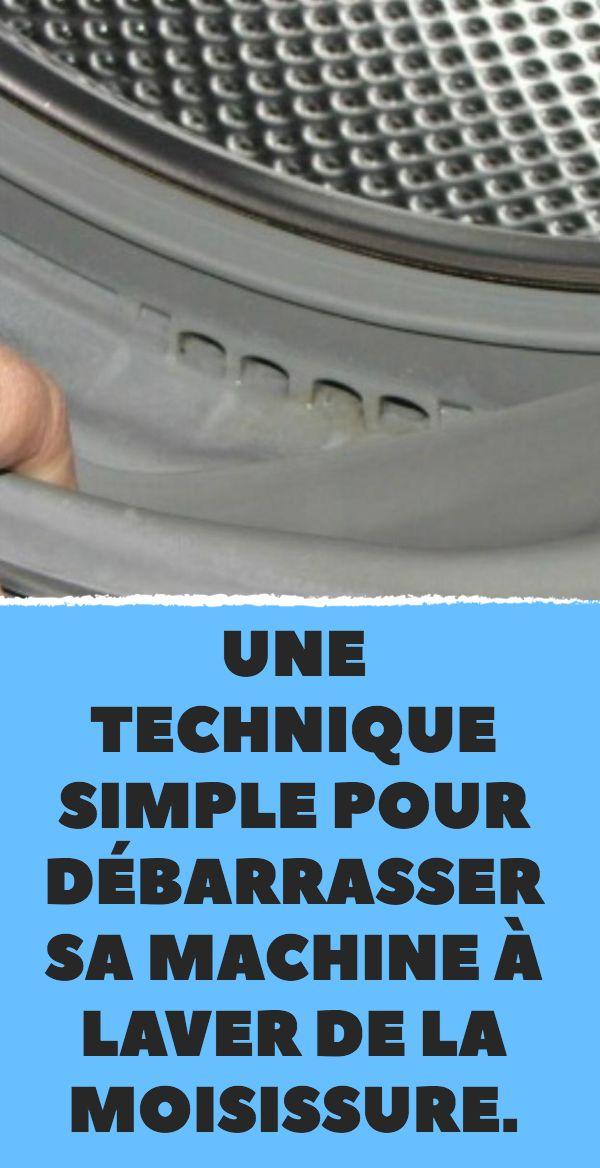 une technique simple pour d barrasser sa machine laver de la moisissure astuces maison. Black Bedroom Furniture Sets. Home Design Ideas