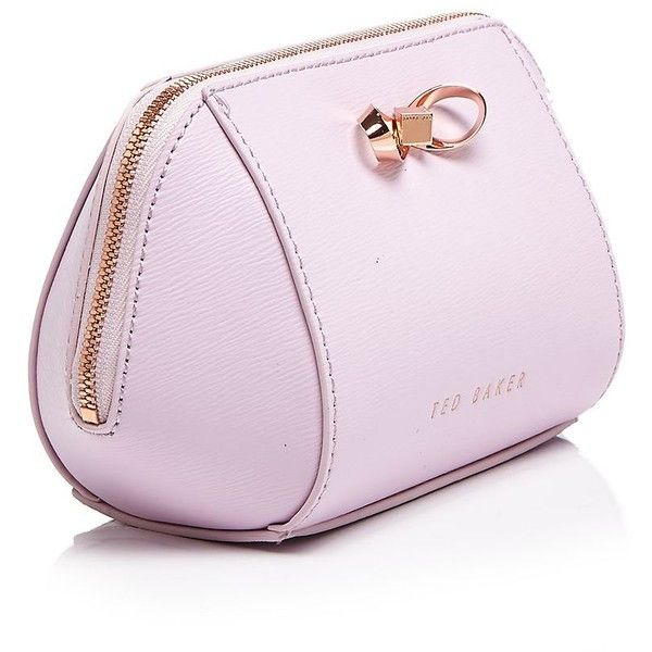 Ted Baker Ammi Small Trapeze Cosmetic Case (2,840 PHP) ❤ liked on Polyvore featuring beauty products, beauty accessories, bags & cases, toiletry kits, dopp bag, make up bag, travel toiletry case en cosmetic purse